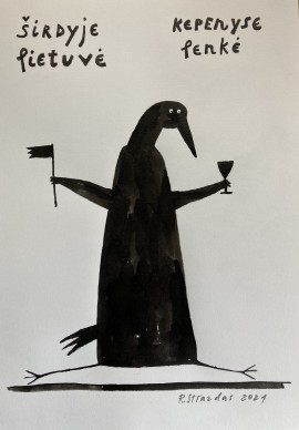 """From Cycle Ilona The Crow. """"Everything Happens"""""""