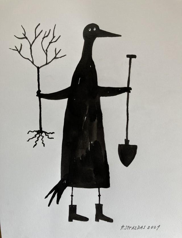 "From Cycle Ilona the Crow ""To Plant a Tree"""