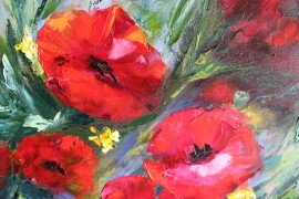 Poppies. Your Tenderness