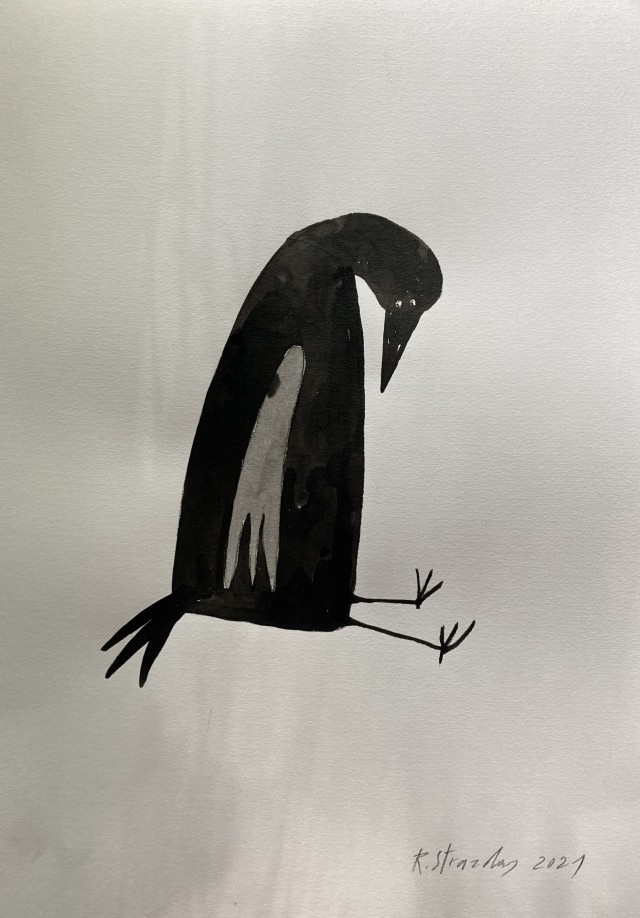 """From Cycle Adventures of Ilona the Crow """"Angel's guard's slap"""""""