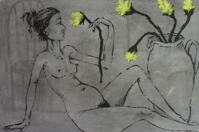 Act of Yellow Flowers