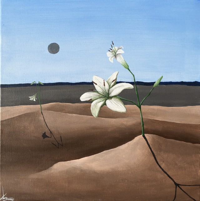 Lilies in the Desert