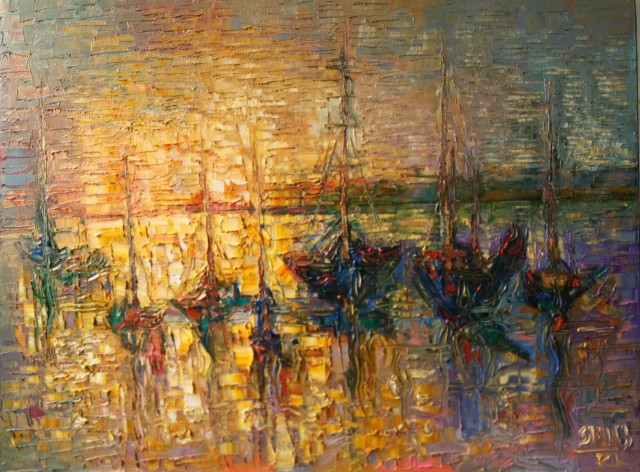 Evening at the Port