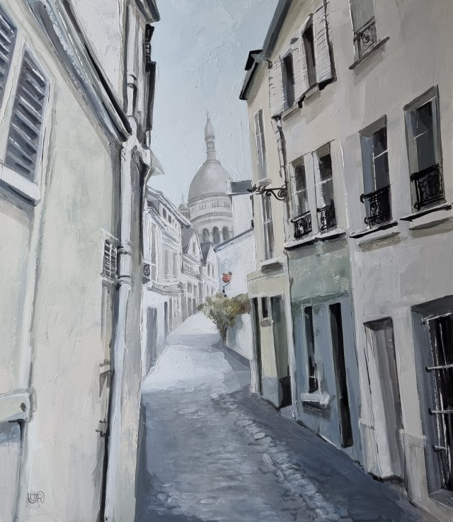 The Tranquility of Montmartre