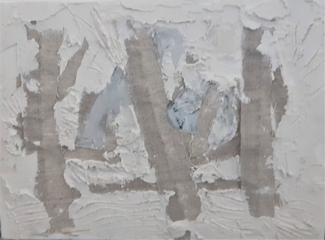 White abstraction B