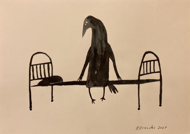 """From the Cycle Ilona the Crow """"Why I Need to Get Up In the Morning"""""""