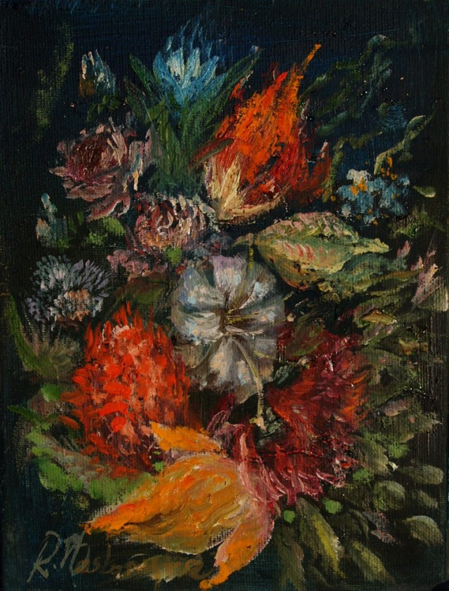 Composition With Flowers I
